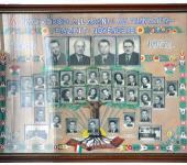 VIII osztály tablója 1944-1952-ből (Fotózott tabló)