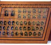 VIII osztály tablója 1963-1967-ből (Fotózott tabló)