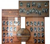 4.A osztály tablója 1967-1971-ből (Fotózott tabló)