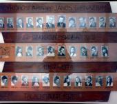4.D osztály tablója 1967-1971-ből (Fotózott tabló)