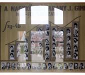 4.B osztály tablója 1968-1972-ből (Fotózott tabló)