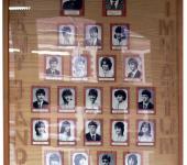 4.A osztály tablója 1980-1984-ből (Fotózott tabló)