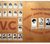 4.C osztály tablója 1980-1984-ből (Fotózott tabló)
