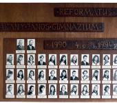 4.C osztály tablója 1990-1994-ből (Fotózott tabló)