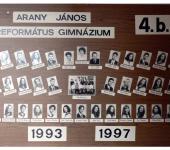 4.B osztály tablója 1993-1997-ből (Fotózott tabló)