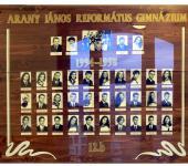 12.B osztály tablója 1994-1998-ből (Fotózott tabló)