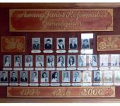 12.B osztály tablója 1994-2000-ből (Fotózott tabló)