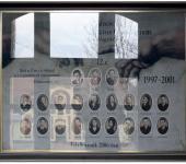 12.C osztály tablója 1997-2001-ből (Fotózott tabló)