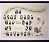 12.C osztály tablója 1999-2002-ből (Fotózott tabló)