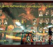 12.A osztály tablója 2000-2006-ből (Fotózott tabló)