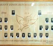 12.B osztály tablója 2000-2006-ből (Fotózott tabló)