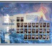12.C osztály tablója 2002-2006-ből (Fotózott tabló)