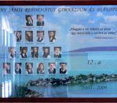 12.A osztály tablója 2003-2009-ből (Fotózott tabló)