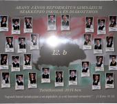 12.B osztály tablója 2005-2009-ből (Fotózott tabló)