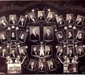 VIII osztály tablója 1930-1937-ből (Szkennelt tablókép)
