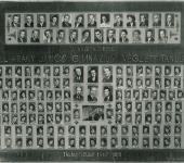 évfolyam osztály tablója 1958-1962-ből (Szkennelt tablókép)