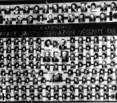 VIII osztály tablója 1965-____-ből (Szkennelt tablókép)