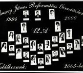 12.A osztály tablója 1994-2000-ből (Szkennelt tablókép)