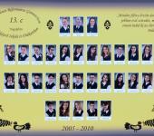 13.C osztály tablója 2005-2010-ből (Szkennelt tablókép)